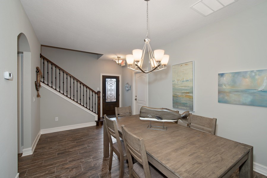 Real Estate Photography - 154 Mediterranean Way, Indian Harbour Beach, FL, 32937 - Dining Room