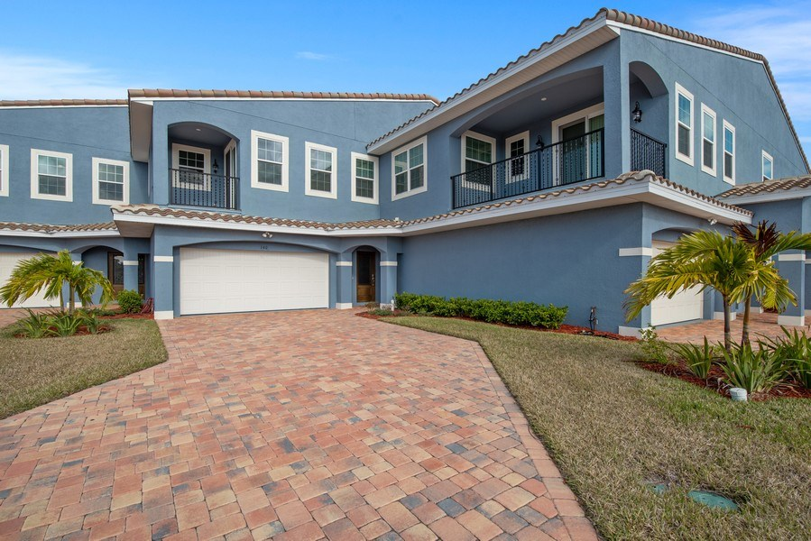 Real Estate Photography - 154 Mediterranean Way, Indian Harbour Beach, FL, 32937 - Front View