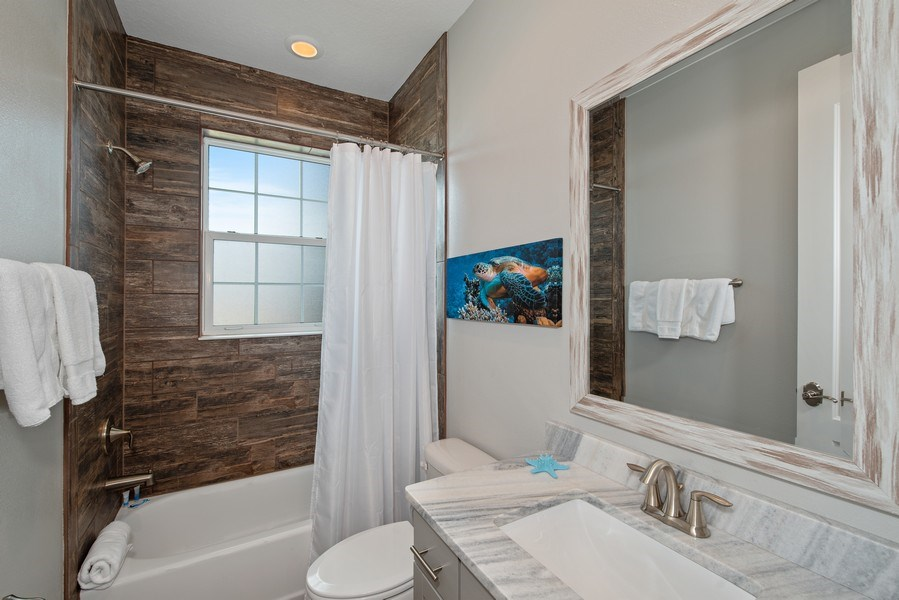 Real Estate Photography - 154 Mediterranean Way, Indian Harbour Beach, FL, 32937 - Bathroom