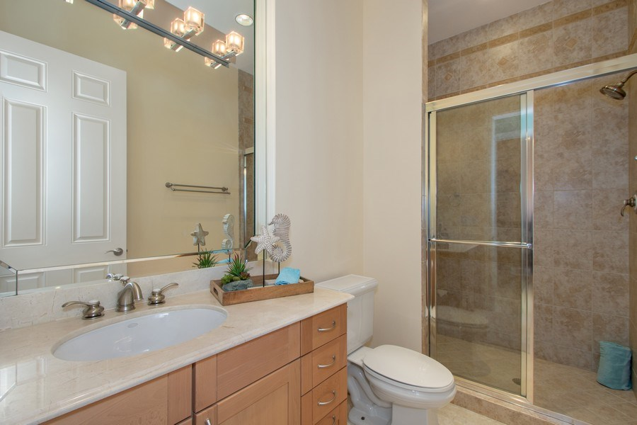Real Estate Photography - 14270 Royal Harbour Ct., 1122, Fort Myers, FL, 33908 - 3rd Bathroom