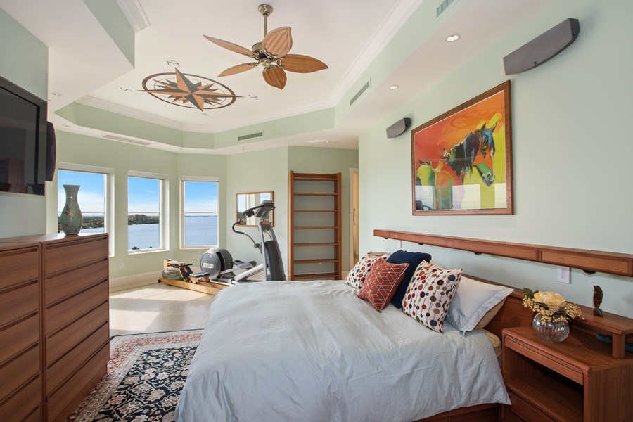 Real Estate Photography - 14270 Royal Harbour Ct., 1122, Fort Myers, FL, 33908 - Master Bedroom