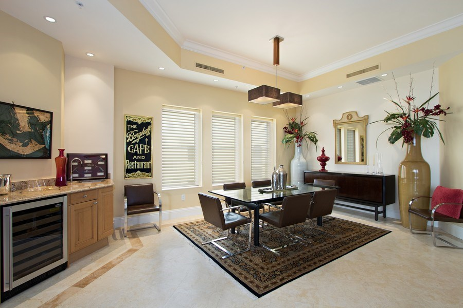 Real Estate Photography - 14270 Royal Harbour Ct., 1122, Fort Myers, FL, 33908 - Dining Room