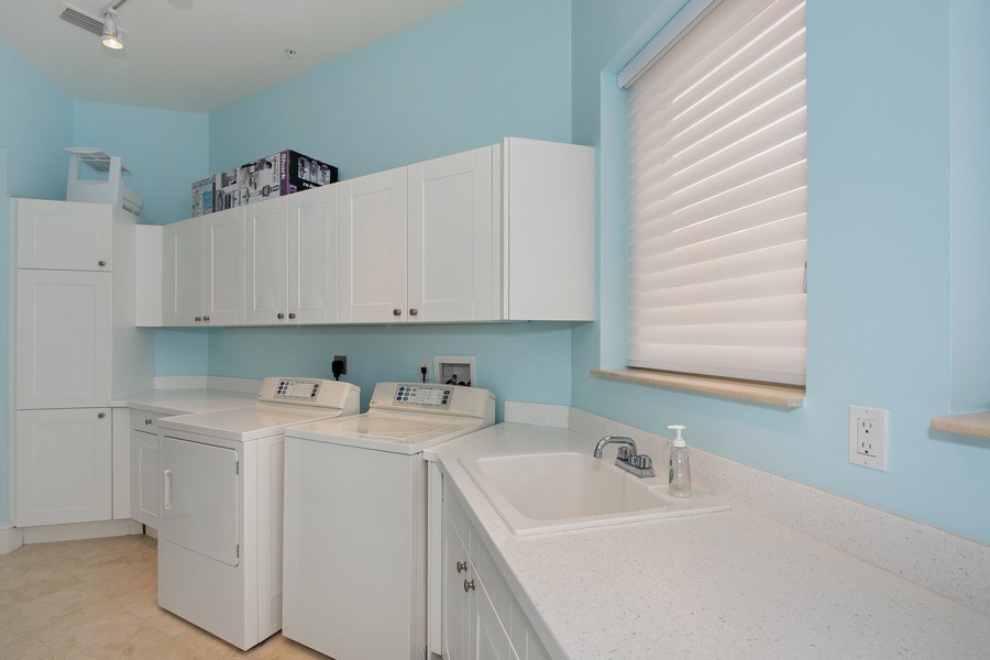 Real Estate Photography - 14270 Royal Harbour Ct., 1122, Fort Myers, FL, 33908 - Laundry Room