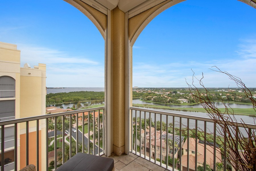 Real Estate Photography - 14270 Royal Harbour Ct., 1122, Fort Myers, FL, 33908 - Balcony