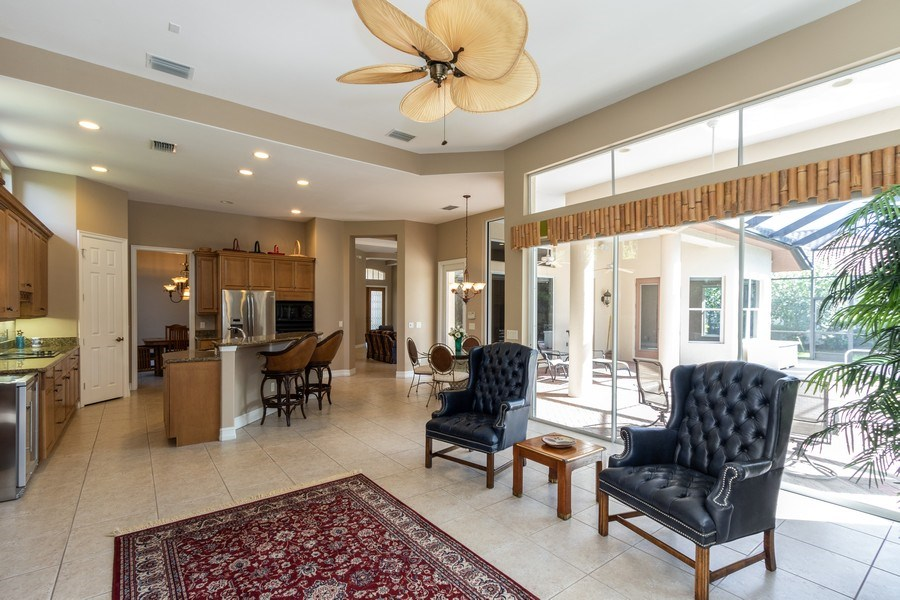 Real Estate Photography - 14530 Ocean Bluff Dr., Fort Myers, FL, 33908 - Living Room