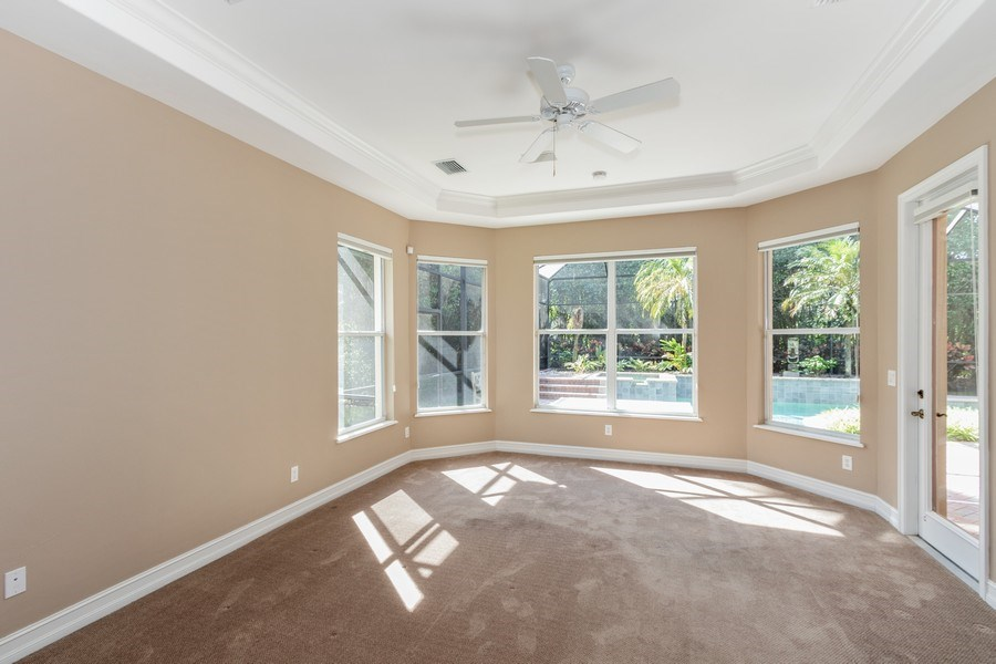 Real Estate Photography - 14530 Ocean Bluff Dr., Fort Myers, FL, 33908 - Master Bedroom