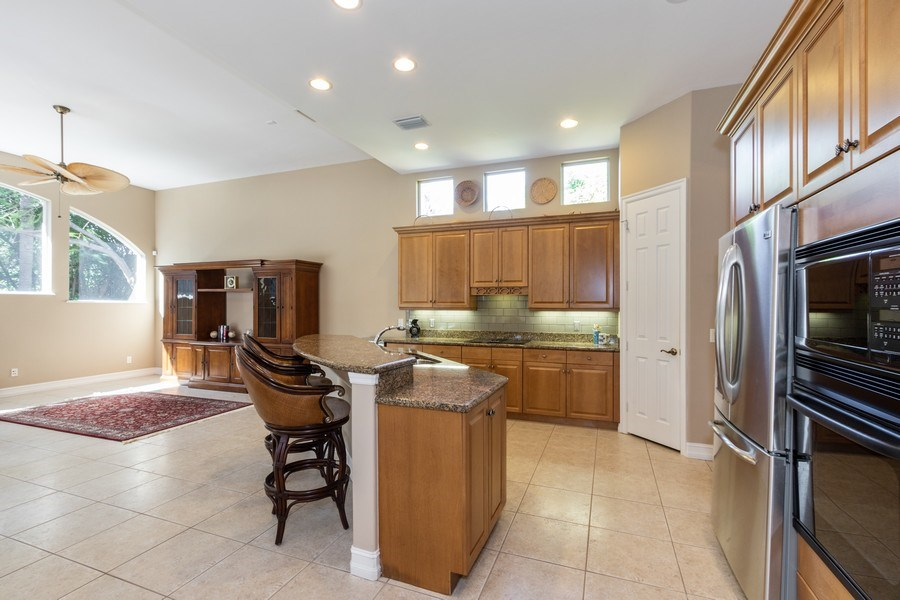 Real Estate Photography - 14530 Ocean Bluff Dr., Fort Myers, FL, 33908 - Kitchen