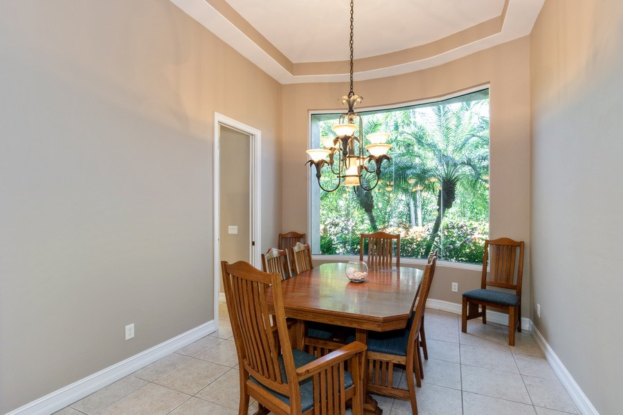 Real Estate Photography - 14530 Ocean Bluff Dr., Fort Myers, FL, 33908 - Dining Room