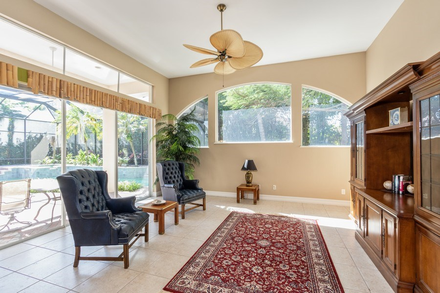 Real Estate Photography - 14530 Ocean Bluff Dr., Fort Myers, FL, 33908 - Family Room