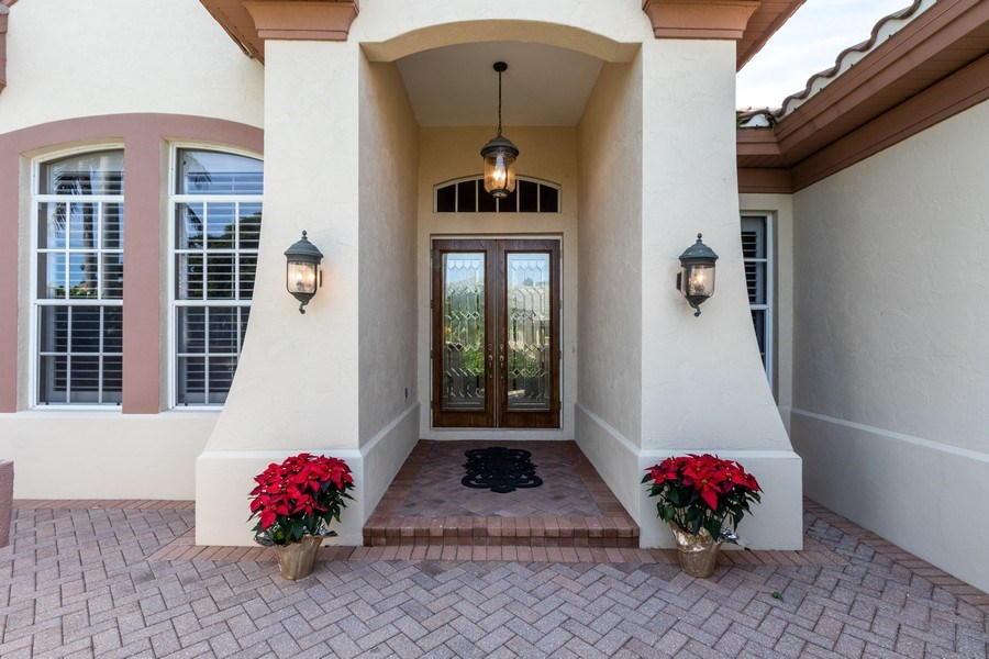 Real Estate Photography - 14530 Ocean Bluff Dr., Fort Myers, FL, 33908 - Entrance