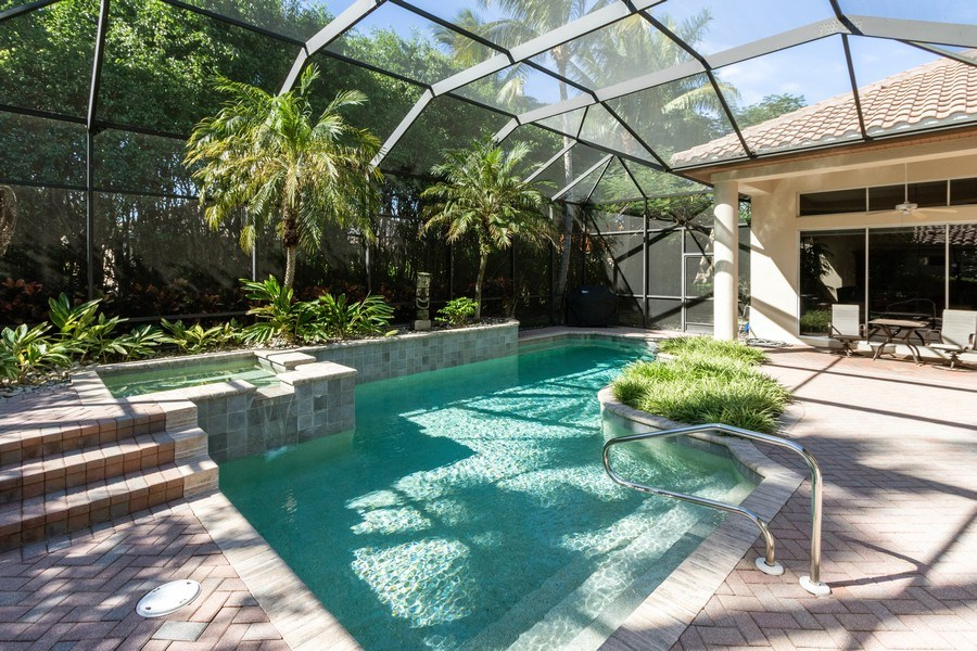 Real Estate Photography - 14530 Ocean Bluff Dr., Fort Myers, FL, 33908 - Pool