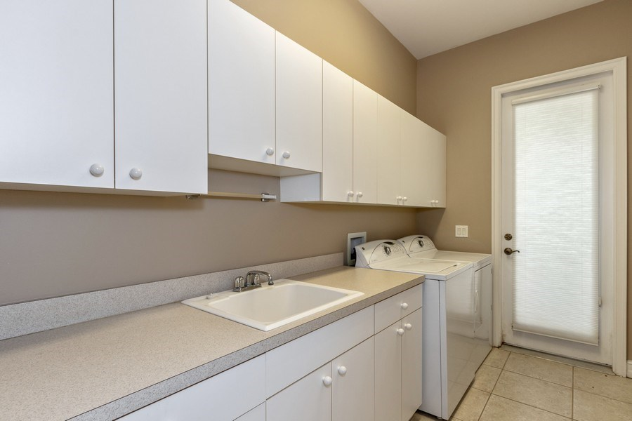 Real Estate Photography - 14530 Ocean Bluff Dr., Fort Myers, FL, 33908 - Laundry Room
