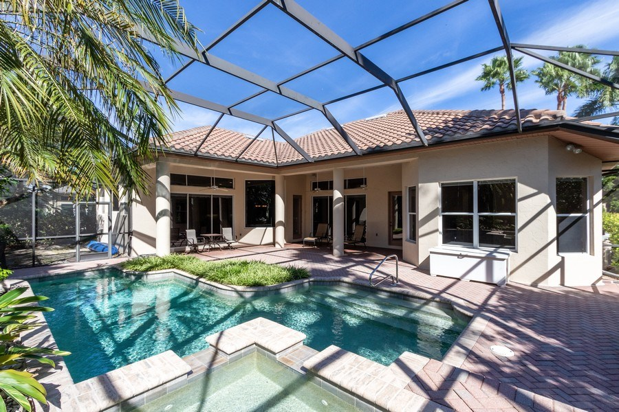 Real Estate Photography - 14530 Ocean Bluff Dr., Fort Myers, FL, 33908 - Rear View