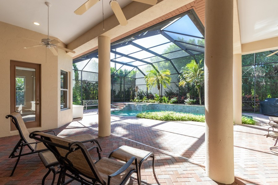 Real Estate Photography - 14530 Ocean Bluff Dr., Fort Myers, FL, 33908 - Lanai