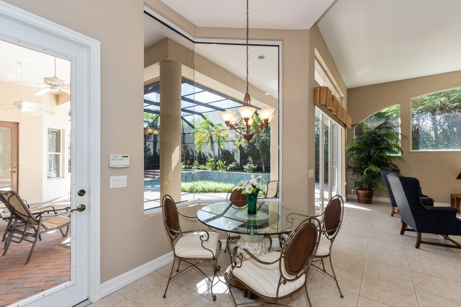 Real Estate Photography - 14530 Ocean Bluff Dr., Fort Myers, FL, 33908 - Breakfast Nook
