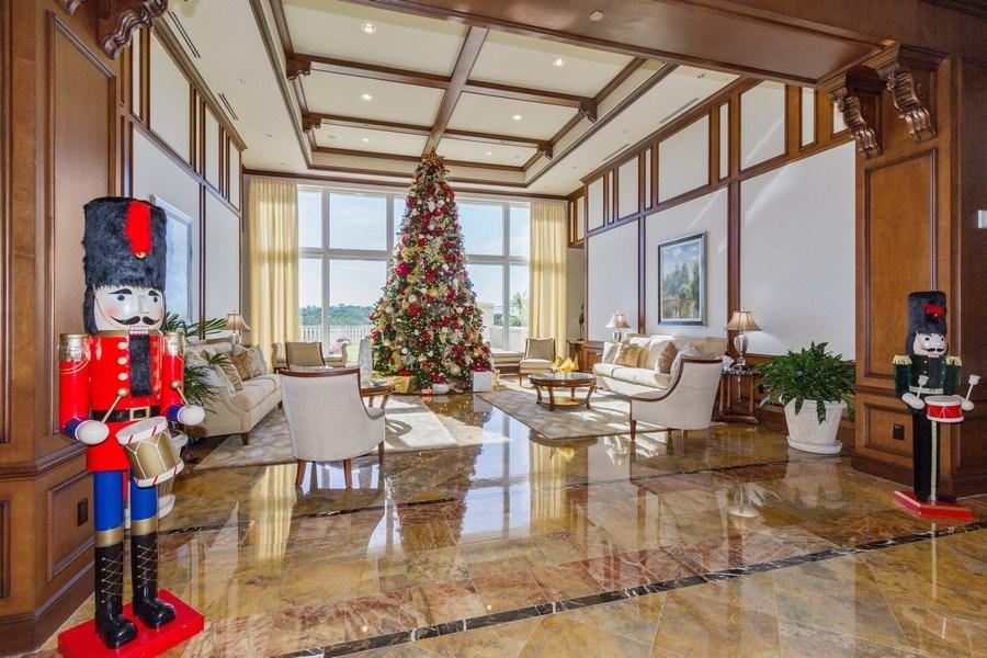 Real Estate Photography - 4875 Pelican Colony Blvd. #1401, Bonita Springs, FL, 34134 - Lobby