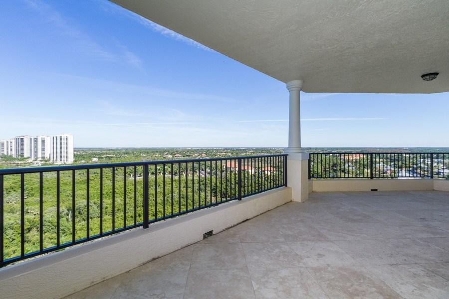 Real Estate Photography - 4875 Pelican Colony Blvd. #1401, Bonita Springs, FL, 34134 - Terrace