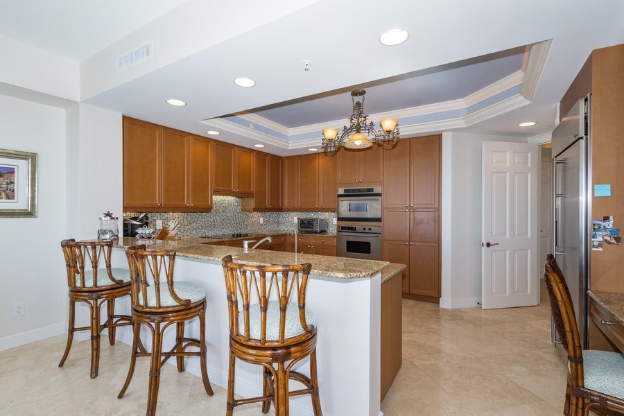 Real Estate Photography - 4875 Pelican Colony Blvd. #1401, Bonita Springs, FL, 34134 - Kitchen