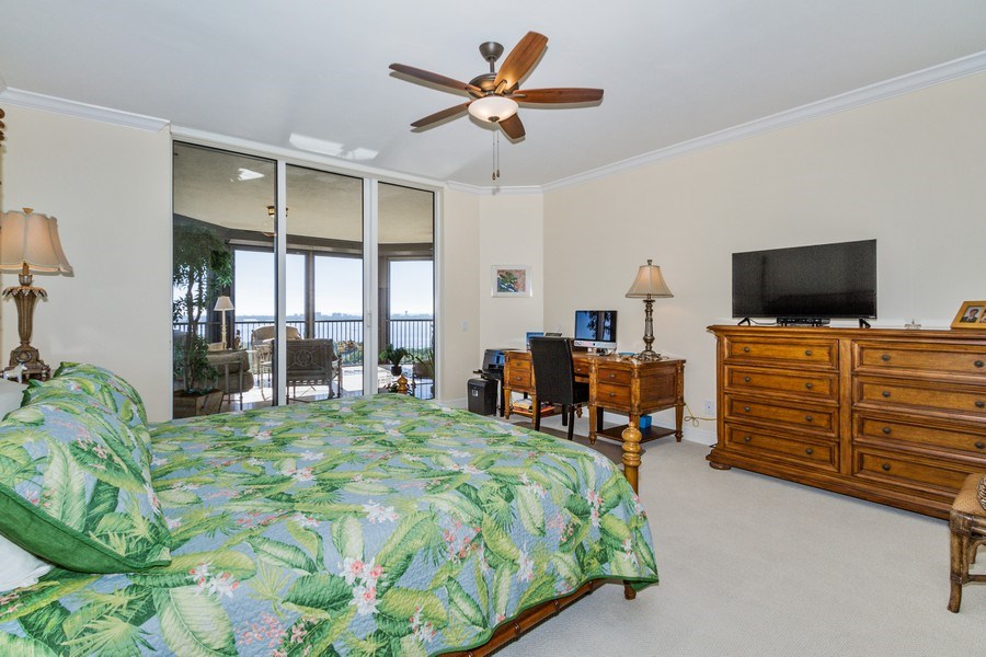 Real Estate Photography - 4875 Pelican Colony Blvd. #1401, Bonita Springs, FL, 34134 - Master Bedroom