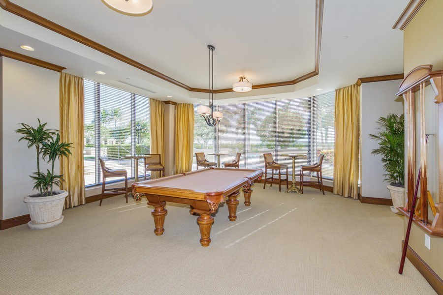 Real Estate Photography - 4875 Pelican Colony Blvd. #1401, Bonita Springs, FL, 34134 - Entertainment Room
