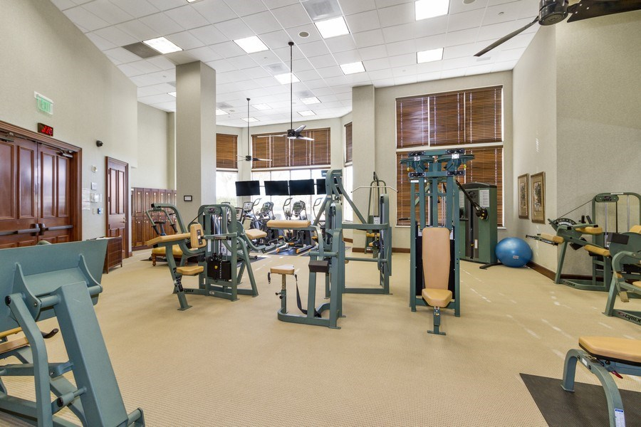 Real Estate Photography - 4875 Pelican Colony Blvd. #1401, Bonita Springs, FL, 34134 - Fitness Center