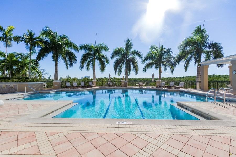 Real Estate Photography - 4875 Pelican Colony Blvd. #1401, Bonita Springs, FL, 34134 - Outdoor Pool