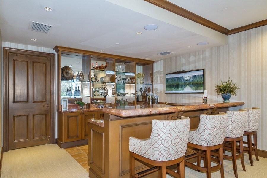 Real Estate Photography - 4875 Pelican Colony Blvd. #1401, Bonita Springs, FL, 34134 - Bar