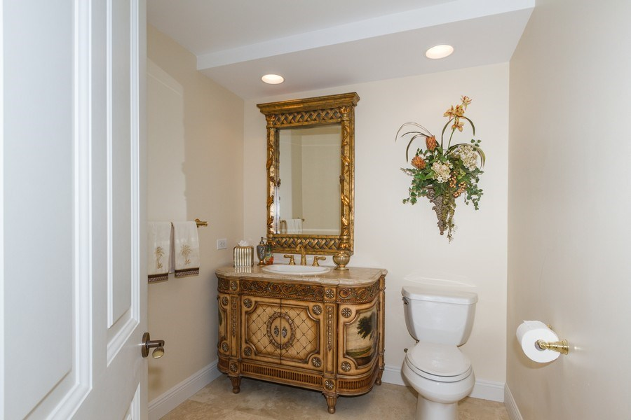 Real Estate Photography - 4875 Pelican Colony Blvd. #1401, Bonita Springs, FL, 34134 - Half Bath
