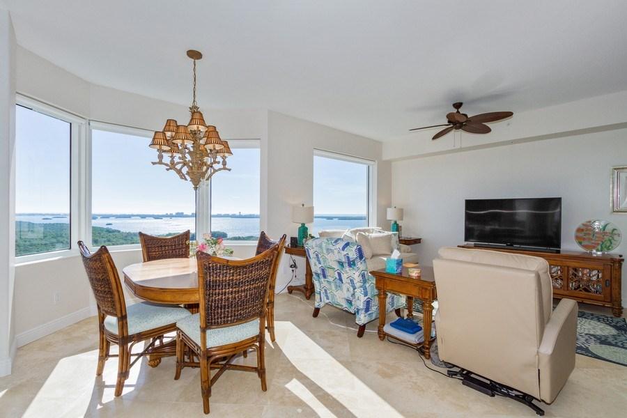 Real Estate Photography - 4875 Pelican Colony Blvd. #1401, Bonita Springs, FL, 34134 - Breakfast Nook