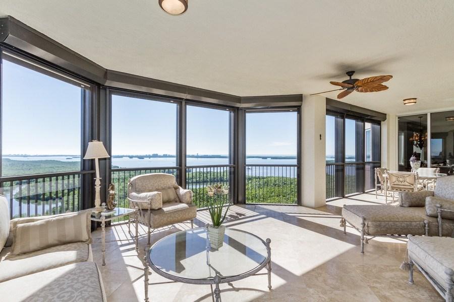 Real Estate Photography - 4875 Pelican Colony Blvd. #1401, Bonita Springs, FL, 34134 - Patio