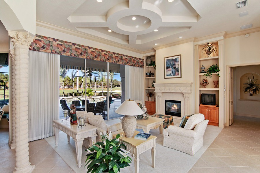Real Estate Photography - 7147 Beechmont Ter, Lakewood Ranch, FL, 34202 - Living Room