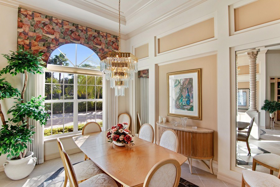 Real Estate Photography - 7147 Beechmont Ter, Lakewood Ranch, FL, 34202 - Dining Room