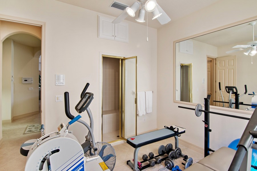 Real Estate Photography - 7147 Beechmont Ter, Lakewood Ranch, FL, 34202 - Fitness Room
