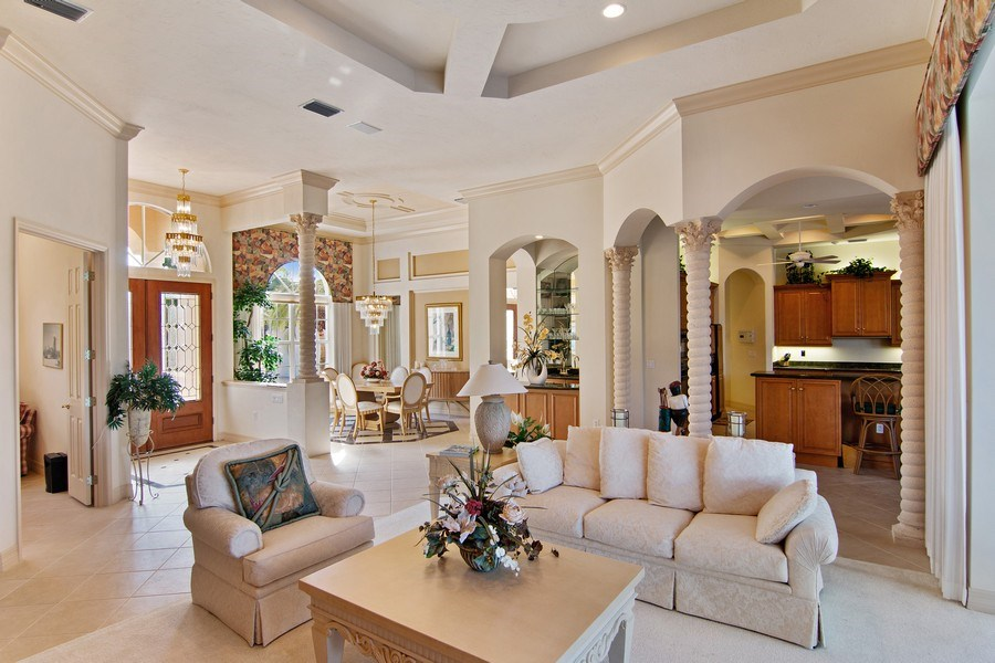 Real Estate Photography - 7147 Beechmont Ter, Lakewood Ranch, FL, 34202 - Living Room / Dining Room