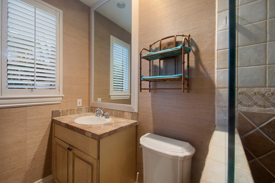 Real Estate Photography - 7582 Isla Verde Way, Delray Beach, FL, 33446 - 5th Bathroom