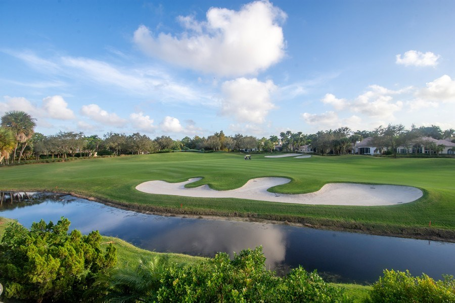 Real Estate Photography - 7582 Isla Verde Way, Delray Beach, FL, 33446 - Golf Course