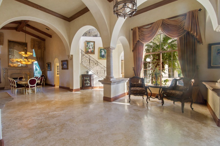 Real Estate Photography - 7582 Isla Verde Way, Delray Beach, FL, 33446 - Foyer