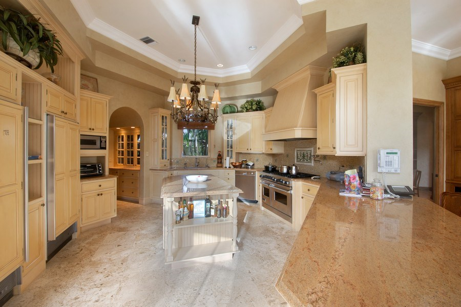 Real Estate Photography - 7582 Isla Verde Way, Delray Beach, FL, 33446 - Kitchen