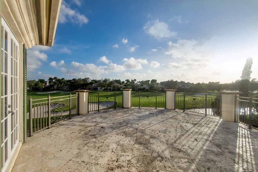 Real Estate Photography - 7582 Isla Verde Way, Delray Beach, FL, 33446 - Balcony