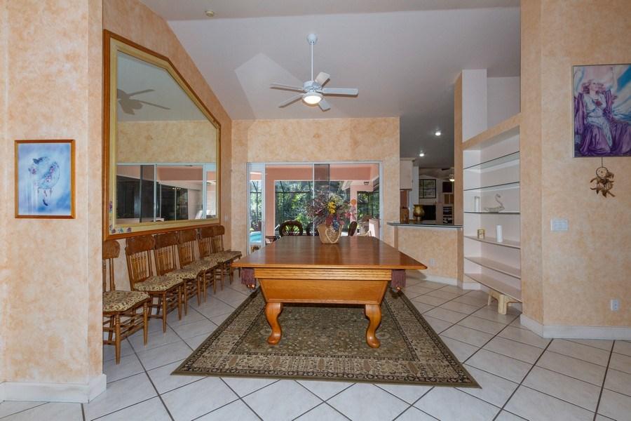 Real Estate Photography - 5180 Mahogany Ridge Drive, Naples, FL, 34119 - Dining Room