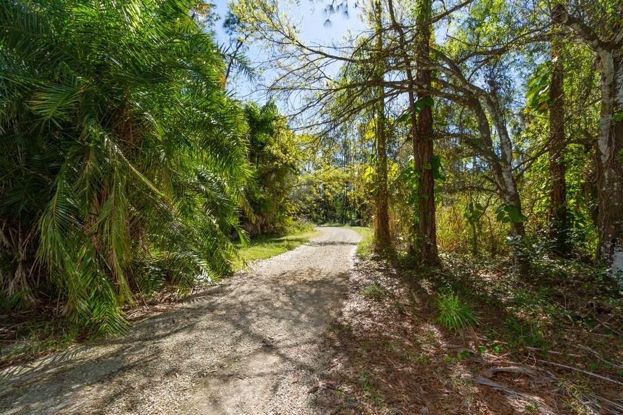 Real Estate Photography - 5180 Mahogany Ridge Drive, Naples, FL, 34119 - Back Yard
