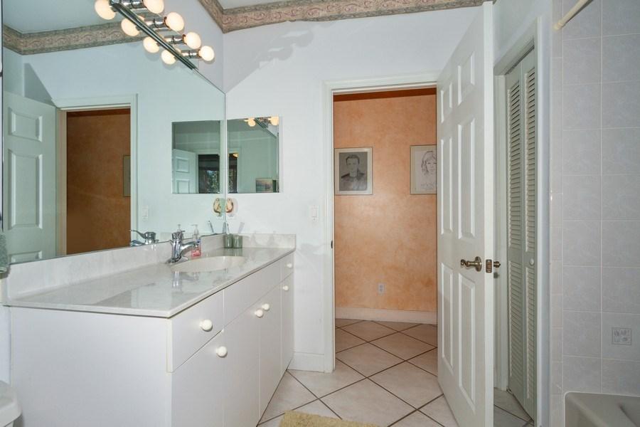 Real Estate Photography - 5180 Mahogany Ridge Drive, Naples, FL, 34119 - Bathroom
