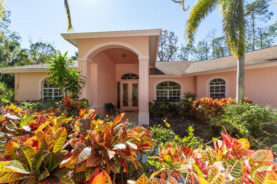 Real Estate Photography - 5180 Mahogany Ridge Drive, Naples, FL, 34119 - Entryway