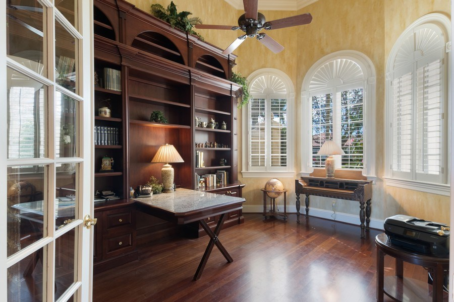Real Estate Photography - 8700 Purslane, Naples, FL, 34109 - Den