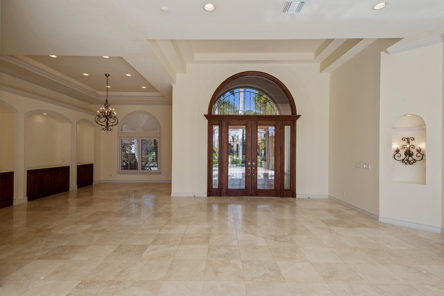 Real Estate Photography - 144 Cheshire Way, Naples, FL, 34110 - Living Room