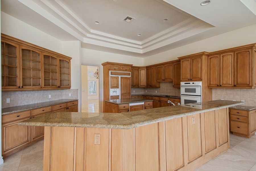 Real Estate Photography - 144 Cheshire Way, Naples, FL, 34110 - Kitchen