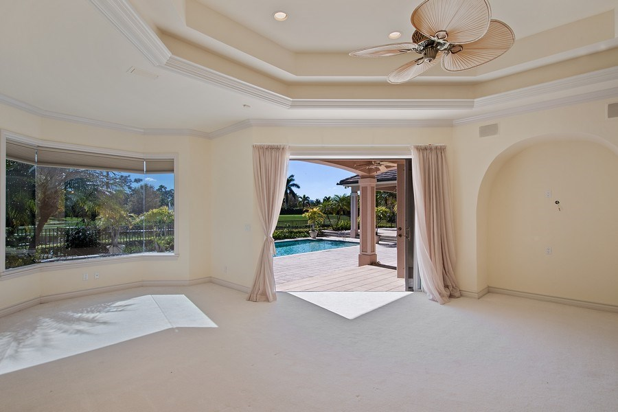 Real Estate Photography - 144 Cheshire Way, Naples, FL, 34110 - Master Bedroom