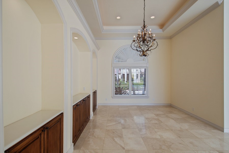 Real Estate Photography - 144 Cheshire Way, Naples, FL, 34110 - Dining Room