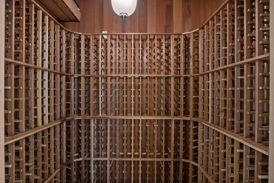 Real Estate Photography - 144 Cheshire Way, Naples, FL, 34110 - Wine Cellar