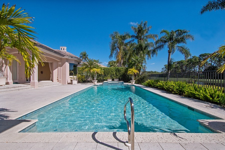 Real Estate Photography - 144 Cheshire Way, Naples, FL, 34110 - Pool